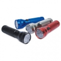 "LumaGear - 19 LED Aluminum ""AAA"" Flashlight, Asssorted Colors"