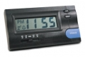 RoadPro Electronic Travel Alarm Clock with Clip or Stand Mount