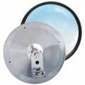 "RoadPro 6"" Stainless Steel Adjustable Convex Center Stud Mirrors"