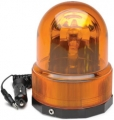RoadPro 12-Volt Revolving Warning Amber Light with Magnetic Base