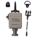 HammerHead Industries Chrome Finish GearKeeper HD Retractable CB MicKeeper with HD Snap Clip