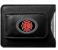 FireFighters Leather Money and Card Holder