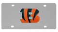 Cincinnati Bengals NFL Stainless Steel License Plate
