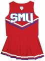 SMU Mustangs NCAA College Youth Cheerleading Outfits-FREE SHIPPING