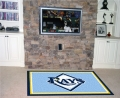 Tampa Bay Rays MLB Area House Rugs