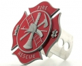 American FireFighter Maltese Cross Hitch Cover