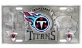 Tennessee Titans NFL 3D Pewter License Plate