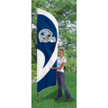 "Dallas Cowboys NFL Applique & Embroidered 102"" x 30"" Tall Team Flag"