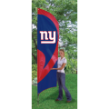 "New York Giants NFL Applique & Embroidered 102"" x 30"" Tall Team Flag"