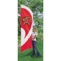 "Maryland Terrapins NCAA Applique & Embroidered 102"" x 30"" Tall Team Flag"