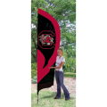 "South Carolina Gamecocks NCAA Applique & Embroidered 102"" x 30"" Tall Team Flag"