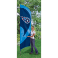 "Tennessee Titans NFL Applique & Embroidered 102"" x 30"" Tall Team Flag"