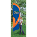 "Florida Gators NCAA Applique & Embroidered 102"" x 30"" Tall Team Flag"