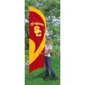 "USC Trojans NCAA Applique & Embroidered 102"" x 30"" Tall Team Flag"