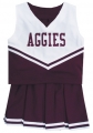 Texas A&M Aggies NCAA College Youth Cheerleading Outfits-FREE SHIPPING