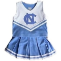 North Carolina Tar Heels NCAA College Youth Cheerleading Outfits-FREE SHIPPING