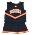 Virginia Cavaliers NCAA College Youth Cheerleading Outfits-FREE SHIPPING