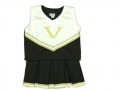 Vanderbilt Commodores NCAA College Youth Cheerleading Outfits-FREE SHIPPING