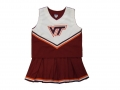 Virginia Tech Hokies NCAA College Youth Cheerleading Outfits-FREE SHIPPING