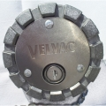 "Velvac 600183-6 Locking 3-7/16"" Diesel Fuel Cap"