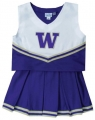 Washington Huskies NCAA College Youth Cheerleading Outfits-FREE SHIPPING