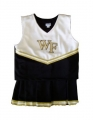 Wake Forest Demon Deacons NCAA College Youth Cheerleading Outfits-FREE SHIPPING