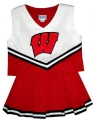 Wisconsin Badgers NCAA College Youth Cheerleading Outfits-FREE SHIPPING