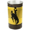 "Wyoming Cowboys NCAA 15"" Tapered Wastebasket"