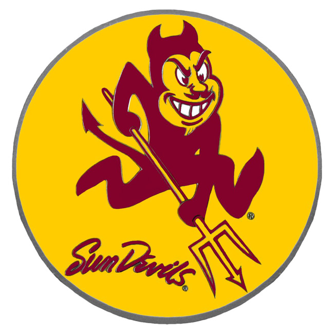 de12b4ec7bb4ac Arizona State Sun Devils Hitch Covers - Arizona State Sun Devils Hitch  Cover - Arizona State Sun Devils NCAA Logo Style Hitch Cover
