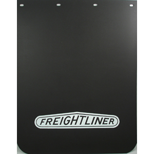 Semi Mud Flaps >> Freightliner Semi Truck Logo 24 X 30 Black Polyurethane Mud Flaps Pair