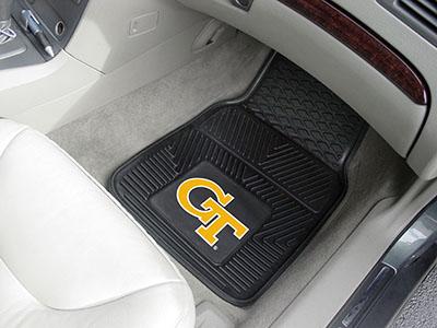 Georgia Tech Yellow Jackets Car Mats Georgia Tech Yellow Jackets
