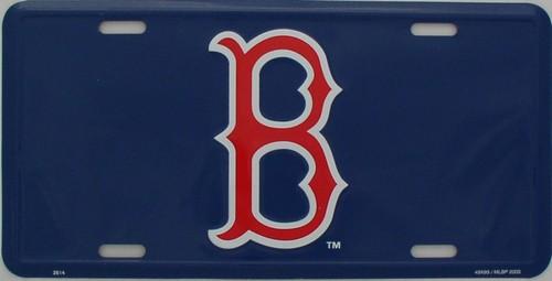 Boston Red Sox License Plates - Boston Red Sox Aluminum License Plates 1433e362d504
