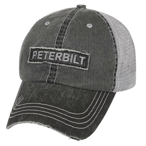 b28dfa42b1538 Peterbilt Hats - Peterbilt Caps - Peterbilt Merchandise - Peterbilt Motors  Raw Edge Patch Caps
