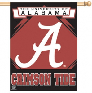 Alabama Crimson Tide 27 X 37 Vertical Outdoor