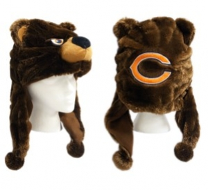 Chicago Bears Mascot Themed Dangle Hat - Chicago Bears Merchandise -  Chicago Bears Gifts 02ec19ceb23f