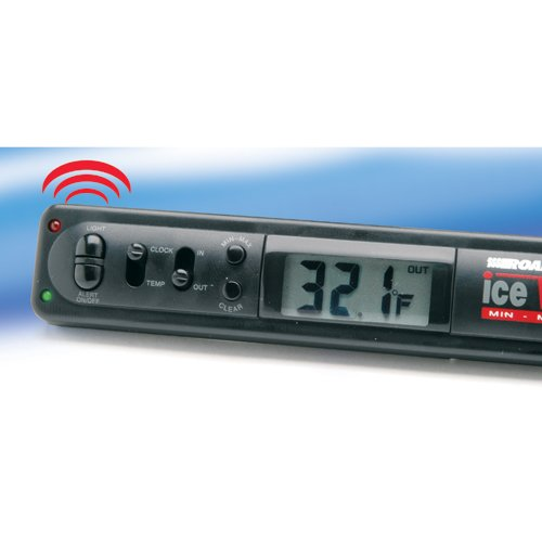 Road Pro Indoor Outdoor Electronic Thermometer With Ice