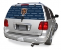 "Chicago Bears NFL Logo """"Rearz"""" Back Windshield Graphic/Decal"