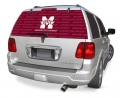 "Mississippi State Bulldogs Glass Tatz NCAA Logo """"Rearz"""" Back Windshield Graphic/Decal"