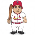 St. Louis Cardinals Dancing Musical Baseball Player Doll