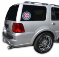 "Chicago Cubs MLB Logo """"Cutz"""" One Way Glass Covering by Glass Tatz"