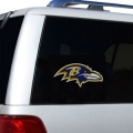 "Baltimore Ravens Glass Tatz NFL Logo ""CUTZ"" Side Windshield Graphic/Decal"
