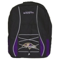 Baltimore Ravens Scrimmage Style School Backpack