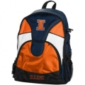 Illinois Fighting Illini NCAA School Backpack