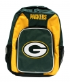 Green Bay Packers NFL School Southpaw Style Backpack