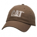 Caterpillar CAT Brown Crew Unstructured Cap