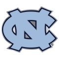 North Carolina Tar Heels NCAA Logo Style Hitch Cover