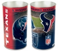"Houston Texans NFL 15"" Tapered Wastebasket"