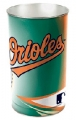 "Baltimore Orioles MLB 15"" Tapered Wastebasket"