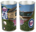 "Minnesota Twins MLB 15"" Tapered Wastebasket"