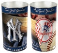 "New York Yankees MLB 15"" Tapered Wastebasket"